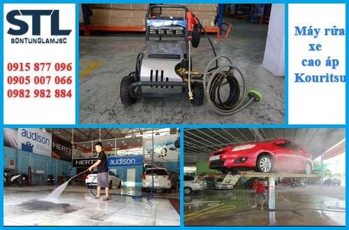 Máy phun rửa Kouritsu chuyên dùng cho tiệm rửa xe