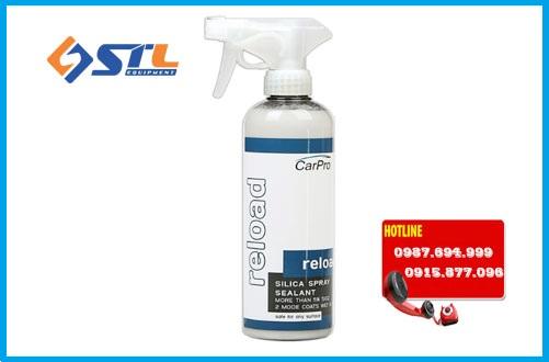 dung dich sealant silica spray chua sio2 carpro reload 500ml