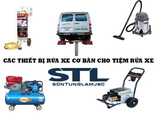 Cung cấp trọn bộ thiết bị rửa xe tại Đà Nẵng