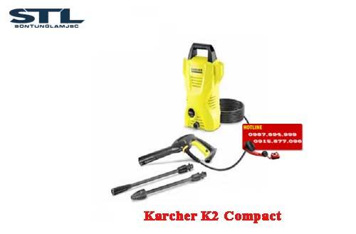 may rua xe gia dinh karcher K2 compact