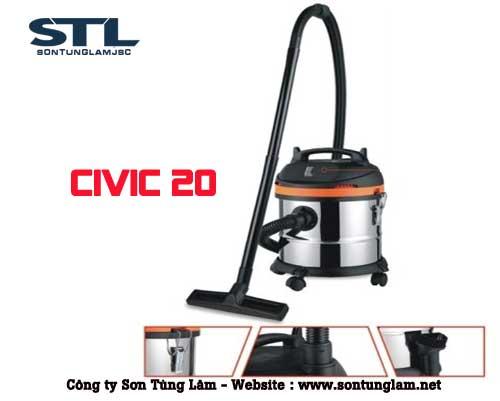 may hut bui cong nghiep civic 20L