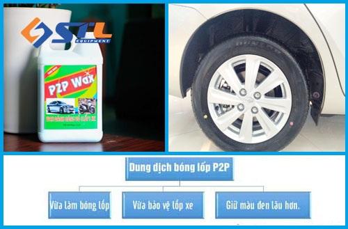 Dung dịch đánh bóng lốp xe giá rẻ