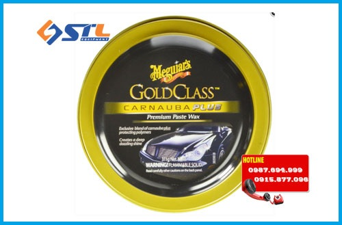 sap danh bong xe cao cap meguiar s g7014j gold class carnauba plus paste wax 11oz.