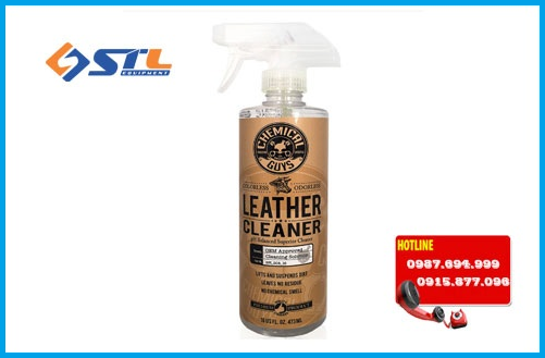 hoa chat chemical guys leather cleaner 16oz