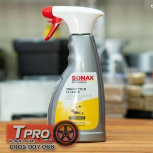 dung dich lam sach khoang dong co Sonax engine cold cleaner 500ml