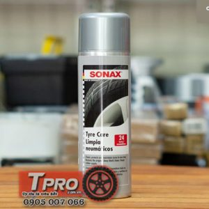 dung dich lam sach va bao duong lop vo xe sonax tyre care 435300