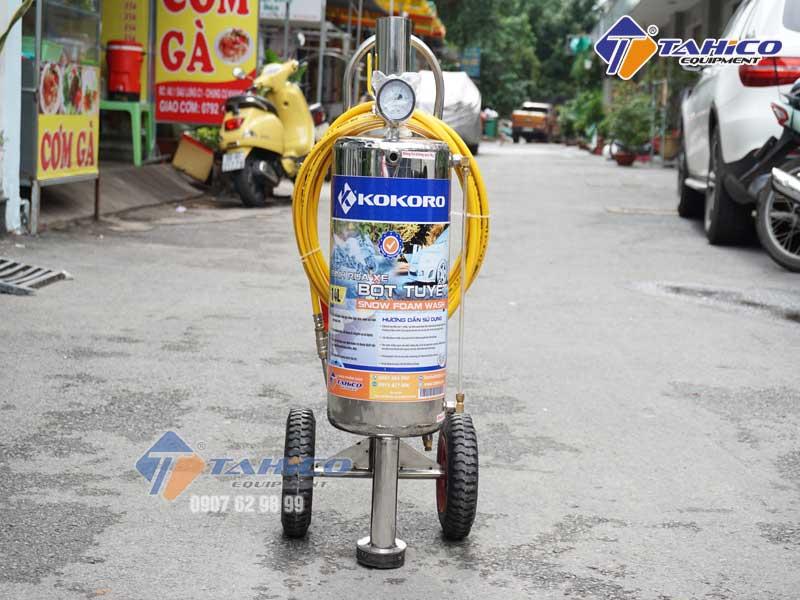 binh rua xe phun bot tuyet kokoro 14 lit 6 1